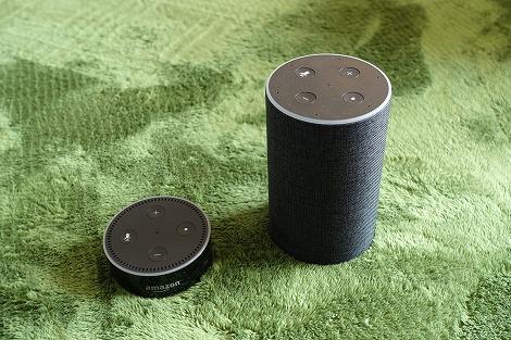 Amazon Echo Dot 違い