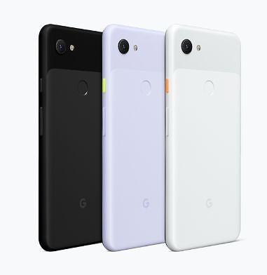 Pixel 3aはジャストブラック、パープルイッシュ、クリアリーホワイトの3つのカラーリングが利用可能