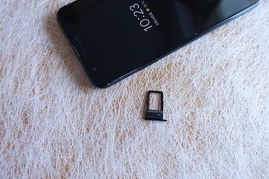 Pixel 3aはSIMカードスロットを1つだけ搭載