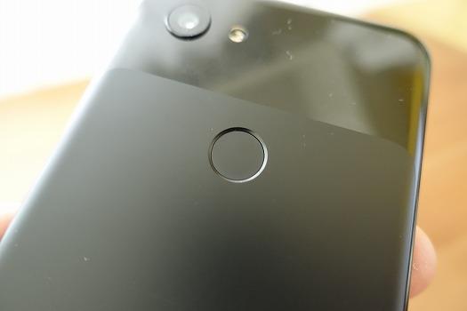 Pixel 3aの指紋認証センサーの反応は良好