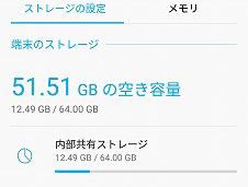 ZenFone 5(ZE620KL) 64GBストレージ