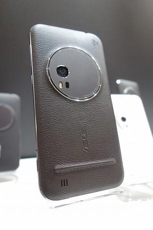 ZenFone Zoomレビュー レザー