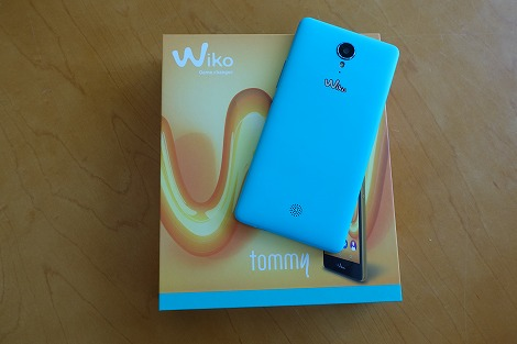 Wiko tommy 開封