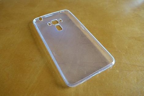 ASUS ZenFone 3 Lasr用 透明ケース