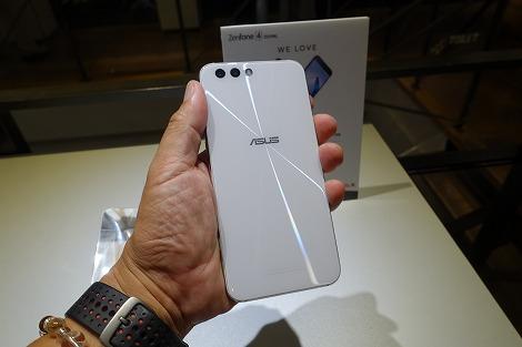 ZenFone 4(ZE554KL) ムーンライトホワイト