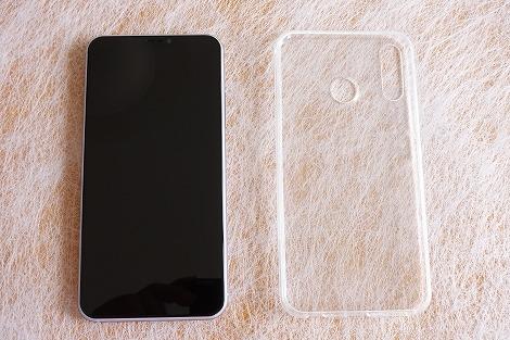 ZenFone 5(ZE620KL) クリアケース 同梱