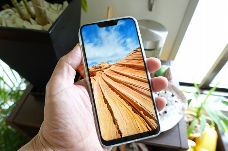 ZenFone 5 液晶 表示 綺麗